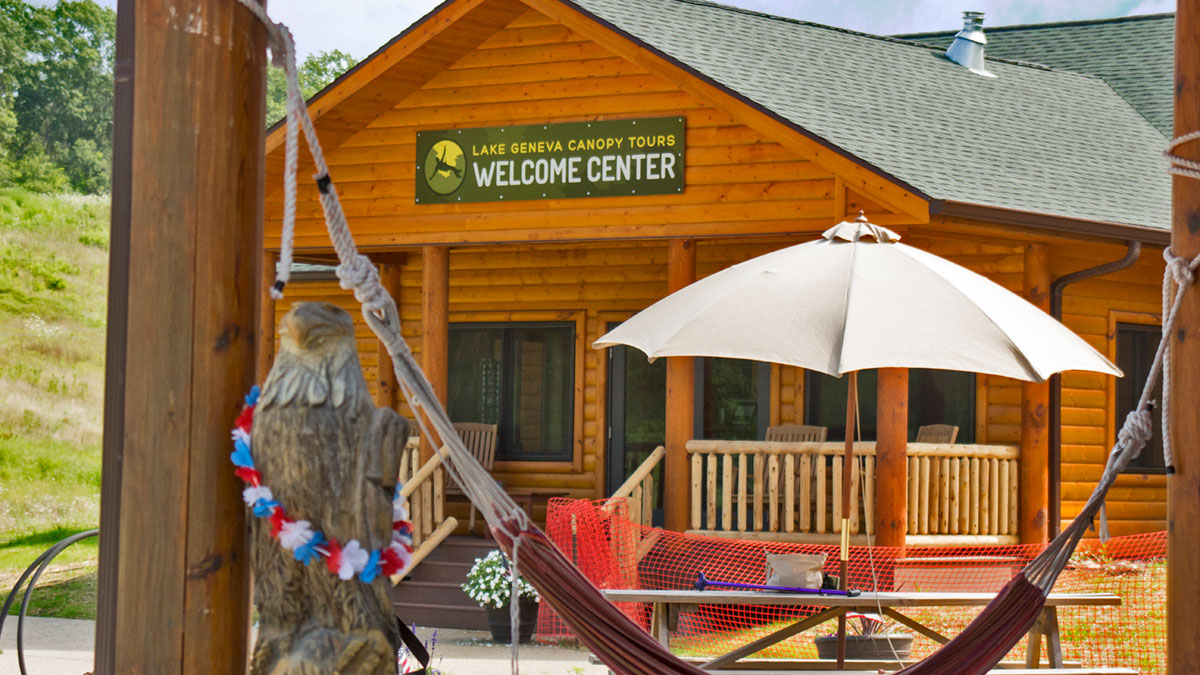 Lake Geneva Canopy Tours New Welcome Center
