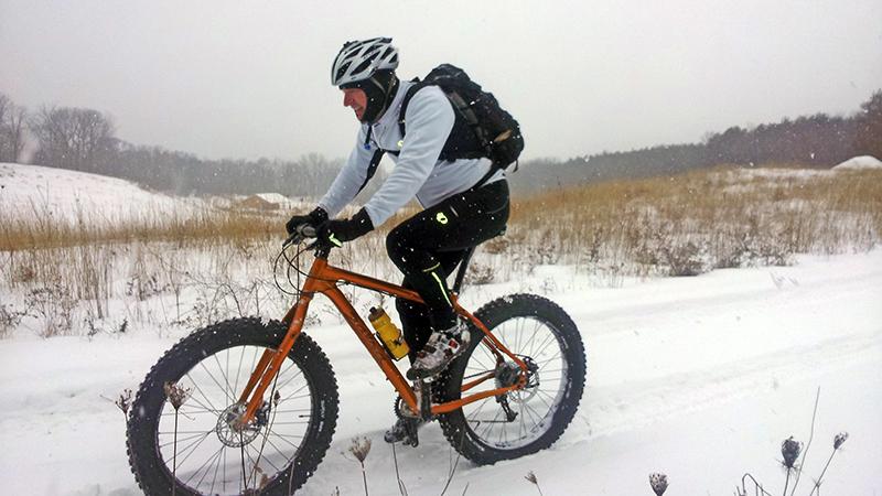 Fat Tire Biking as a Winter Weekender