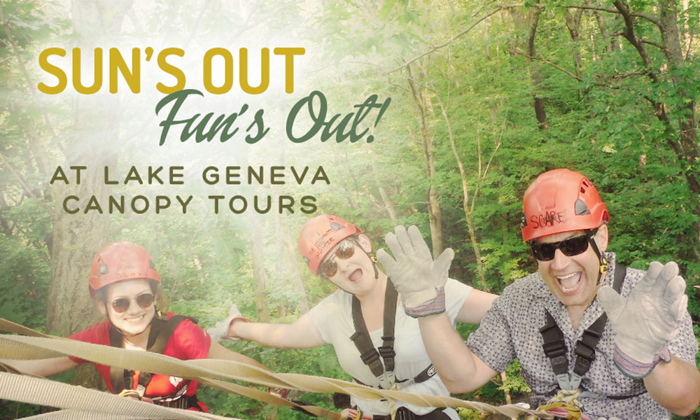 Sun's Out, Fun's Out on Zip Line Canopy Tours