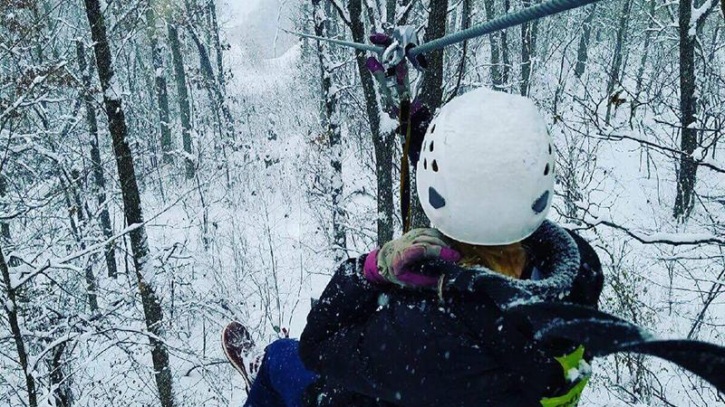 Snowy Zip Line Tour - Winter Weekender