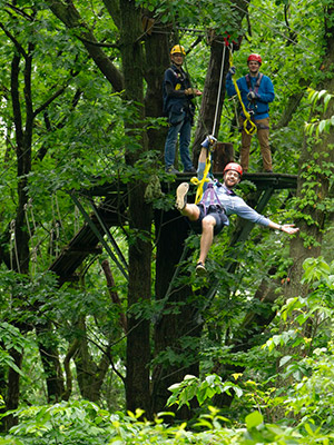 Adventure For The Whole Family Lake Geneva Ziplines And