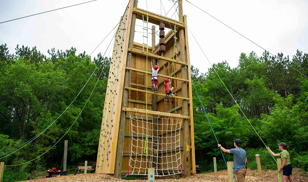 The Vertical Obstacle Course