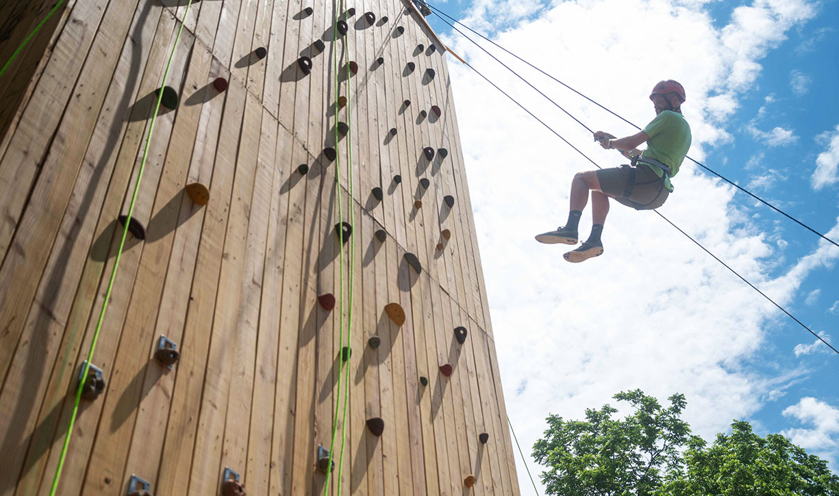 A Full Hour of Climbing